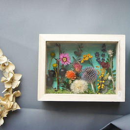 送料込 Mother's Day  frame Flower garden