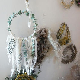 Eucalyptus's weaving wreath