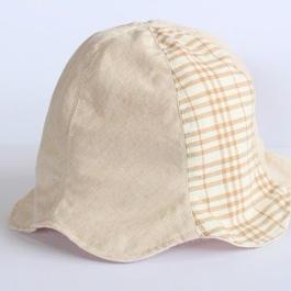 オーガニックコットン  ベビー帽子