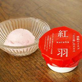 プレミアム苺アイスクリーム「紅羽(くれは)」6個セット
