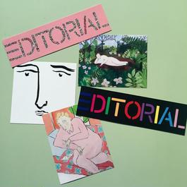 The Editorial Magazine オリジナルステッカー(5枚組)