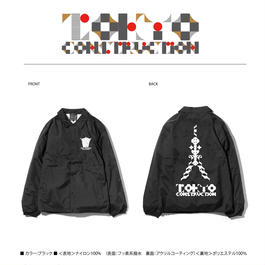 TOKYO CONSTRUCTION COACH JACKET (BLACK)