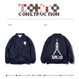TOKYO CONSTRUCTION COACH JACKET (NAVY)