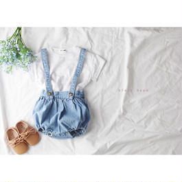denim suspender bloomers