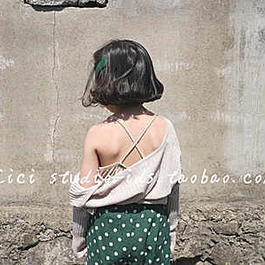 【ご予約】back  cross  camisole