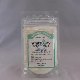 生活の木 ホワイトクレイ(化粧品)30g