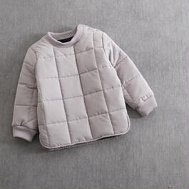 KIDS quilting tops ♣︎ グレー.
