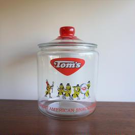 Tom's ビンテージピーナッツジャー