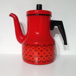 FINEL 赤小花コーヒーポット 1.75リットル FINEL-020
