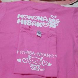 ピンク・オリジナルTシャツ