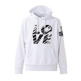 GOTHAM【ゴッサム】L/S HOOD GO-080 LOVE WHITE
