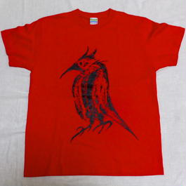 夜鳴鶯 T-SHIRTS (Red)【SALE】