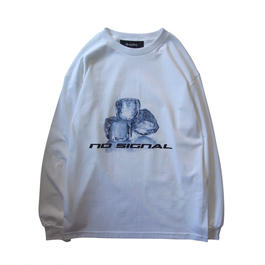 A-17SPT-01  NO SIGNAL  LONG SLEEVE TEE