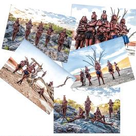 【 ポストカード 】 Himba Collection 5枚セット