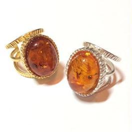 【受注商品】Amber ring