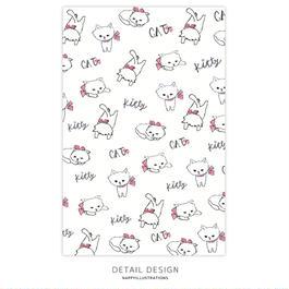 ポストカード / Kitty white