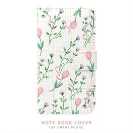 NEW! 手帳型スマートフォン ケース une fleur