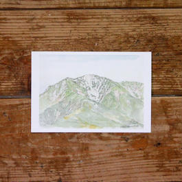 仙丈ヶ岳(ポストカード)