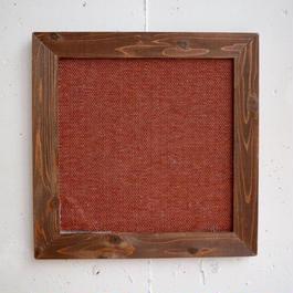 木と布の爪とぎ L  【赤】