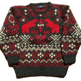 Ralph Lauren HEAVY WOOL ノルデックセーター
