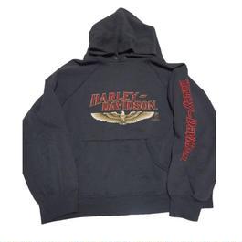 "1980's  ""HARLY-DAVIDSON ""sweat hoodie   実寸(M)"