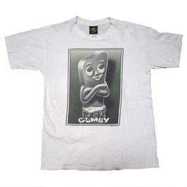 1996's USA製 GUMBY  カルバンクラインのパロディ T-shirts  実寸(L〜)