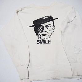 1960's vintage sweat 前V good design  実寸(M)