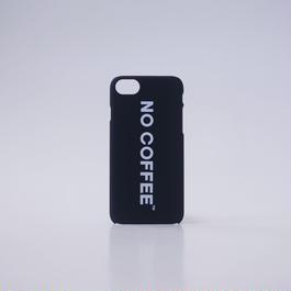 NO COFFEE iPhone7用ケース(ブラック)