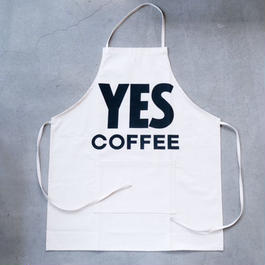 "NO COFFEE × DRESSSEN ""YES COFFEE""エプロン"