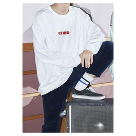 """Comeback My  Daughters""""Girl""""赤 Long Sleeve T"""