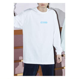 "Comeback My Daughters""Girl"" 水色Long Sleeve T"