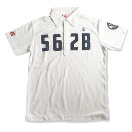 野村タケオデザイン562Bポロシャツ ホワイト【再販】(5/31までの予約販売)