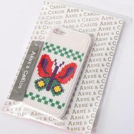 アルネ&カルロス Arne&Carlos/ステッチケース(iPhone5 / 5S対応)〈チョウチョ〉