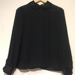 1970's blouse black