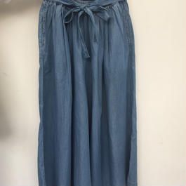 """NEW"" Lilou&Lily TENCEL DENIM WIDE PANTS LIGHT"