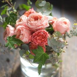 【FLOWER VASEつき】ROSE BOUQUET