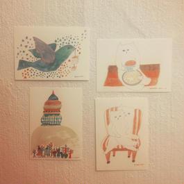 熊谷かなた ポストカードセット(8枚)