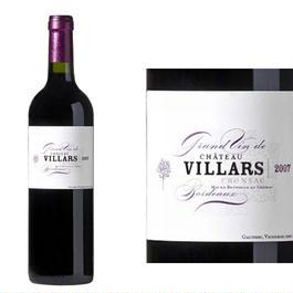 フランス、ボルドーワイン、AOC ポムロール、フロンサック「シャトー・ヴィラール」2007年、赤、750ml