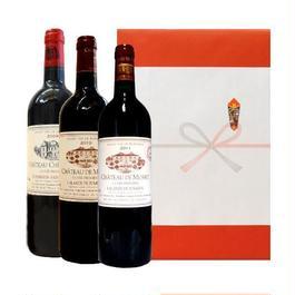 ボルドービンテージ赤ワインギフト ピュイスガン・サンテミリヨンとラランド・ド・ポムロールの2009年 2010年 2011年
