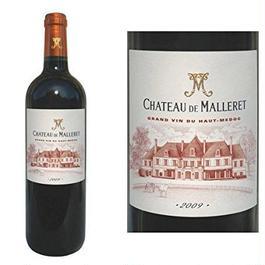 金賞受賞ボルドー辛口ワイン 人気のヴィンテージ2009年 フランス赤ワイン グランヴァン シャトー・ド・マレレ2009年