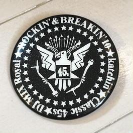Rockin' & Breakin' バッジ 55mm