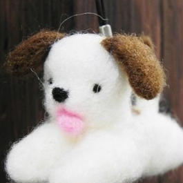 【mogu*mogu】犬ストラップ P36-0032