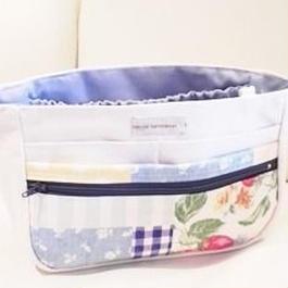 【ああ】Bag in Bag ランダムパッチ柄 P17-0585