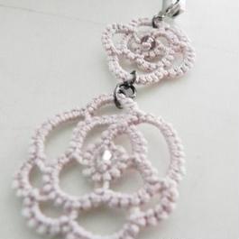 【regal】薔薇ストラップ PINK F4-0023