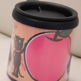 【やっぱおうちがいいね】マグカップ りんごオレンジ L12-0203