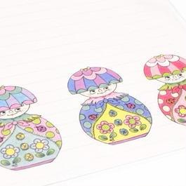 【PoPun.P】Letter set マトリョーシカ S48-253