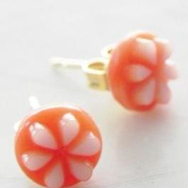 【nekonamoon】オレンジ&ホワイト P26-10191