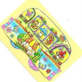 【PoPun.P】カード バス 48-0057