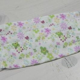 【ああ】ノーズワイヤー入りマスク 紫花 P17-986