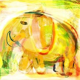 Elephant in Light